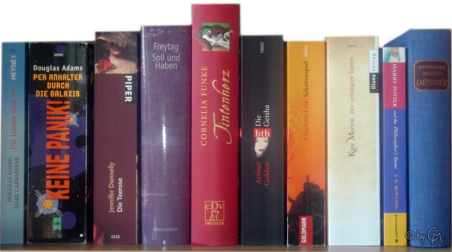 Bücher nebeneinander  Cordula Maier » Tag » Bücher