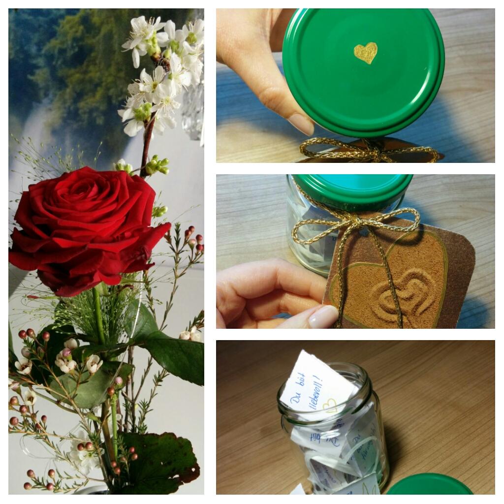 Hier Nur Eine Kurze Anregung Zum Valentinstag. Ja, Er Ist Für Dieses Jahr  Schon Vorbei, Aber Er Kommt Ja Jedes Jahr Wieder. Man Nehme Ein Einmachglas  Und ...